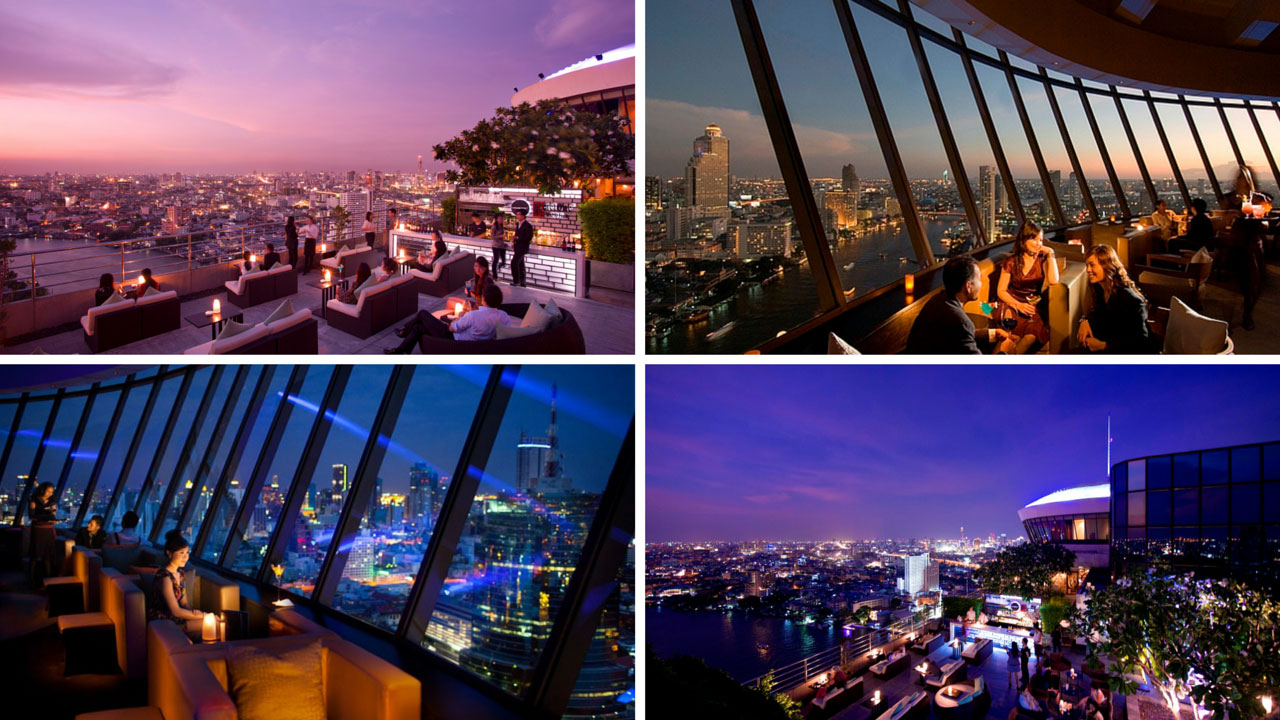 The Best Bangkok Riverside Rooftop Bars