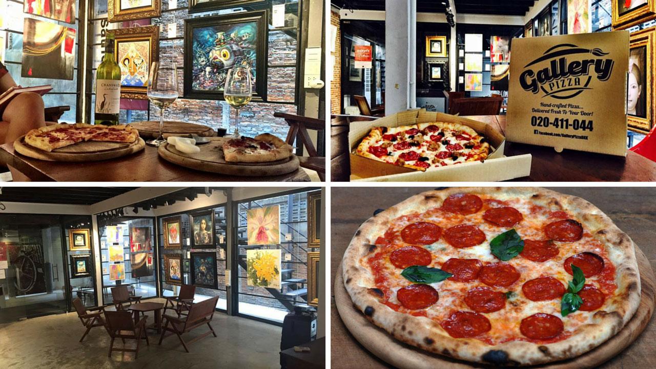 8 Bangkok Pizzerias - Gallery Pizza