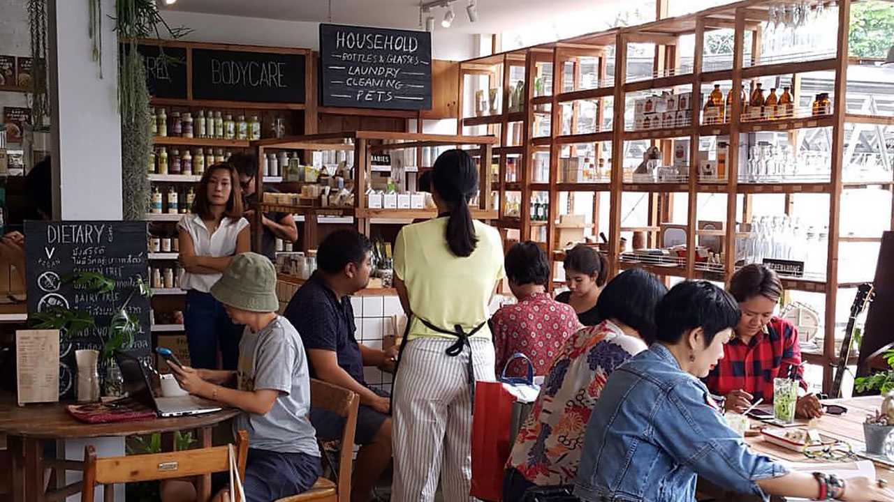 Organic Supply Restaurant Bangkok