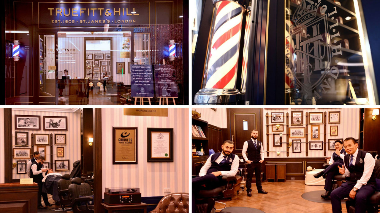 5 Upscale Barber Shops in Bangkok - Truefitt & Hill