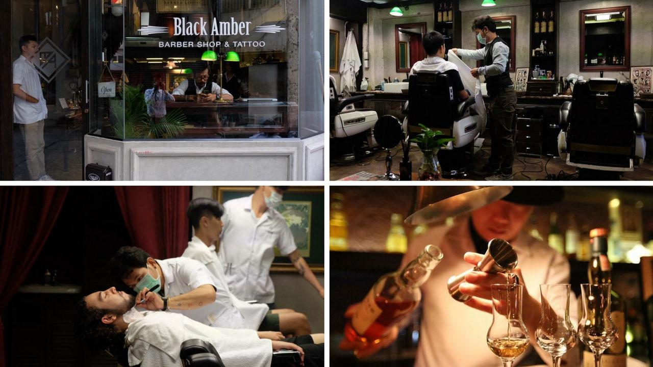 5 Upscale Barber Shops in Bangkok - Black Amber