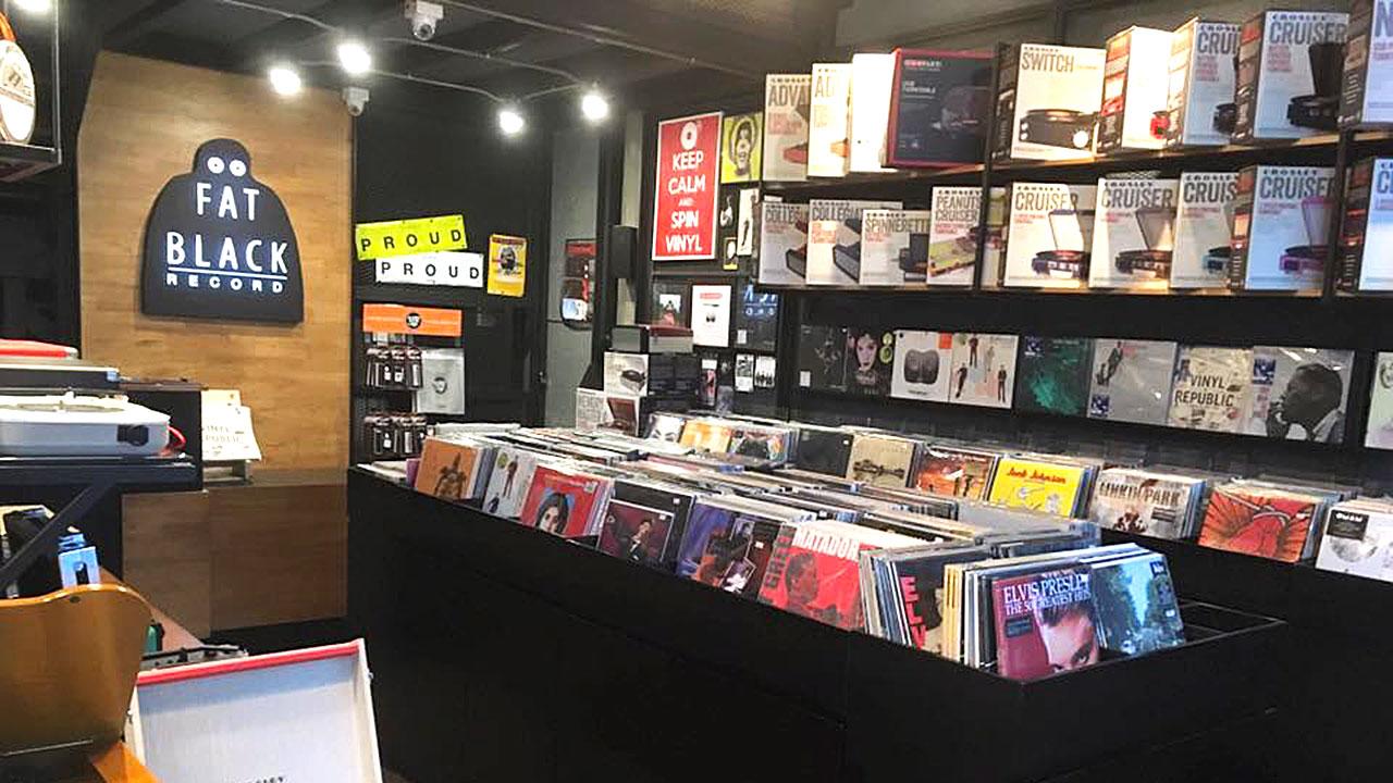 8 Bangkok Vinyl Shops - Fatblack Record