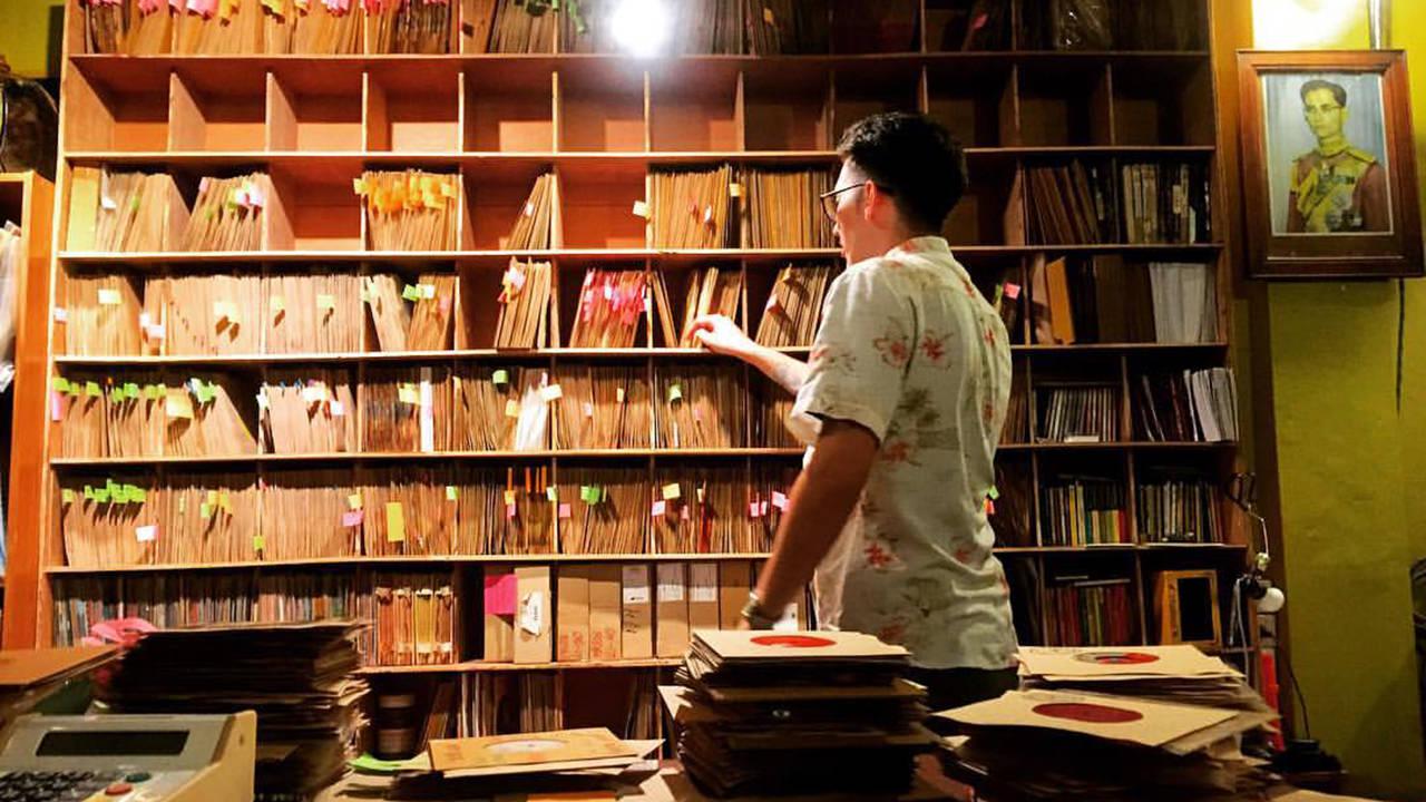 8 Bangkok Vinyl Shops - ZudRangMa Records