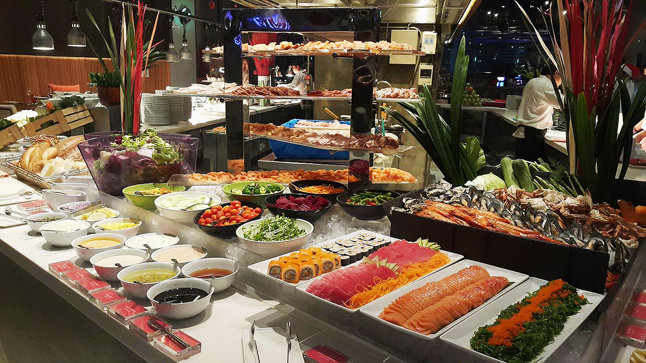 6 All You Can Eat Places In Bangkok - Crave Wine Bar & Restaurant