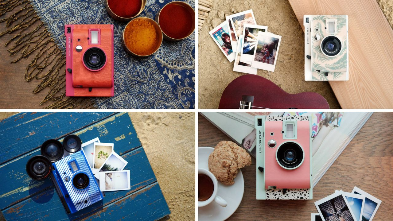 Instant Photography is back! Grab a Lomo'Instant and snap the moment!