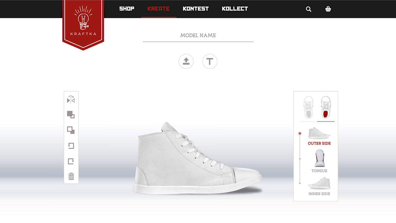 Kraftka: The Sneakers Brand That Lets You Design Your Own Sneakers