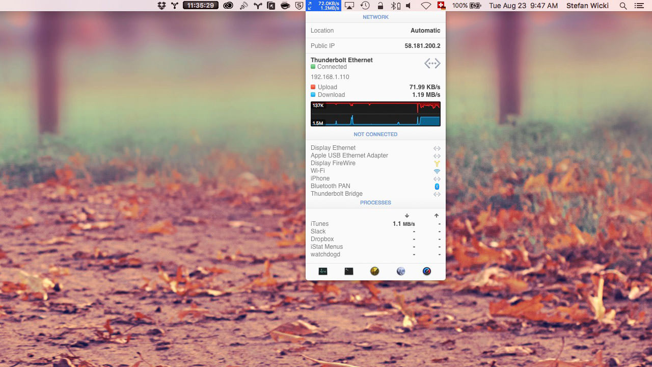 The 7 Essential Apps every Mac computer needs: iStat Menus