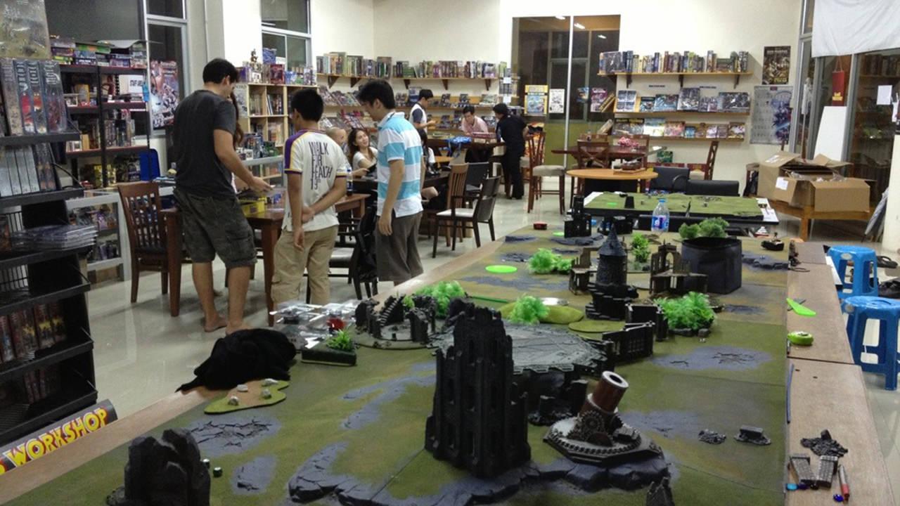6 Bangkok Cafes to Get Your (Board) Game On - Battlefield Bangkok