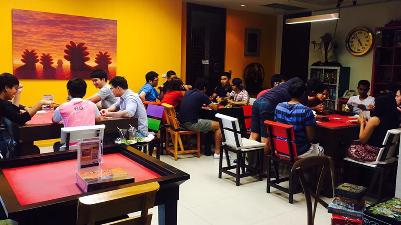6 Bangkok Cafes to Get Your (Board) Game On - Kopi-O Board Game Cafe