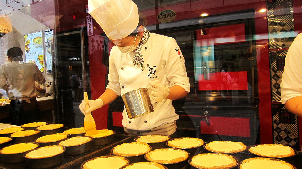 Pablo, the Most Famous Cheese Tart from Japan: Finally in Bangkok!
